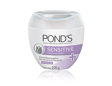 [Sensitive | Pond's]